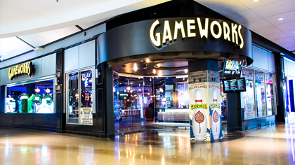 Gameworks Mall Of America 174