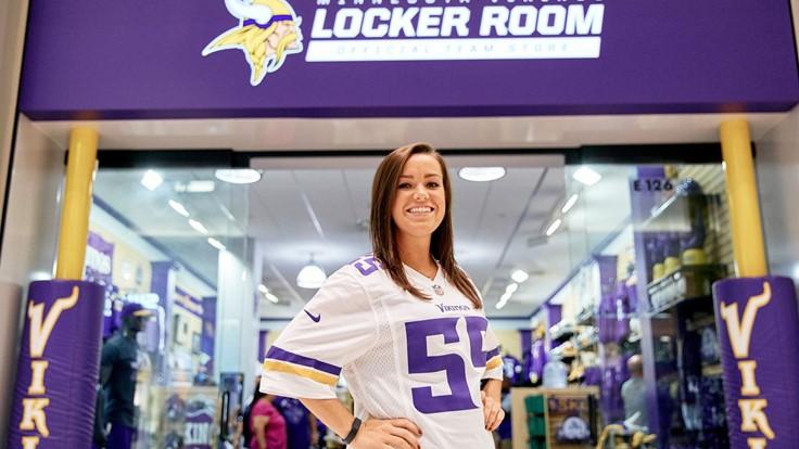 super popular af1cd a200d Vikings Locker Room | Mall of America®