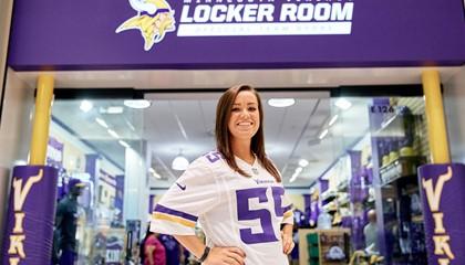 Minnesota Vikings Locker Room Official Team Store